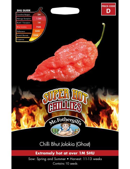 Super Hot Chilli Bhut Jolokia (Ghost)