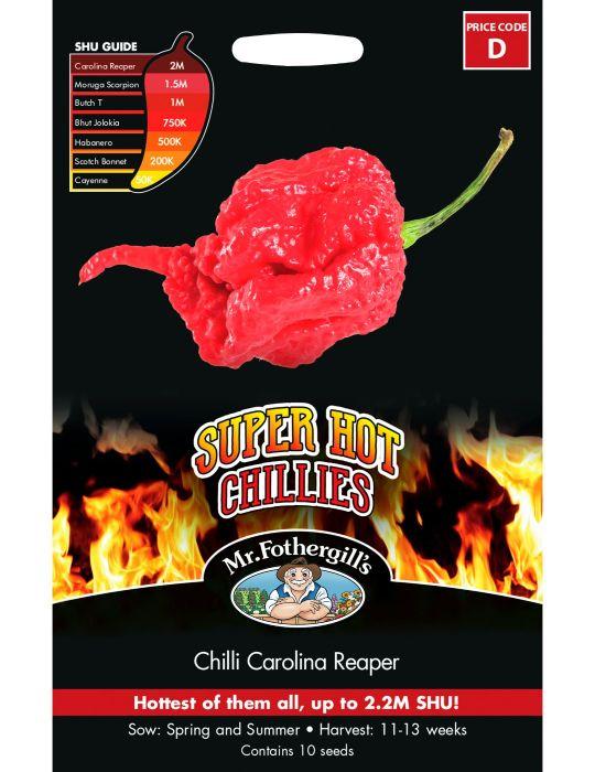 Super Hot Chilli Carolina Reaper