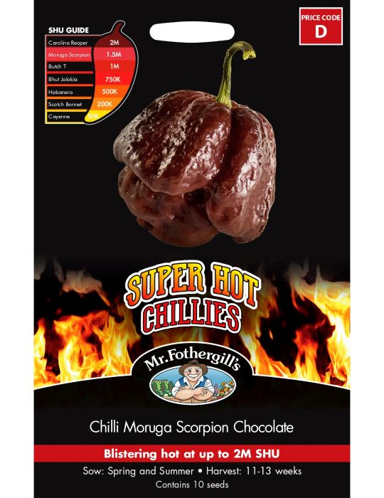 Super Hot Chilli Moruga Scorpion Chocolate