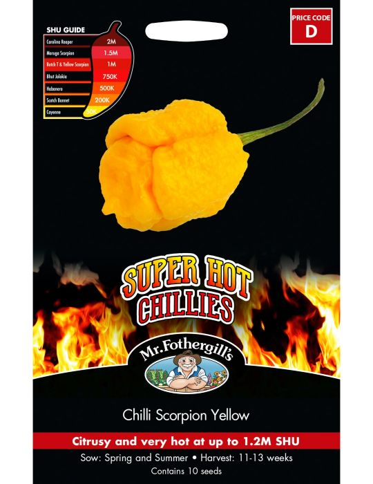 Super Hot Chilli Scorpion Yellow