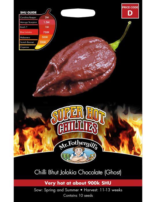 Super Hot Chilli Bhut Jolokia Chocolate (Ghost)