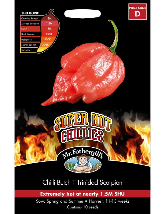 Chilli Butch T Trinidad Scorpion
