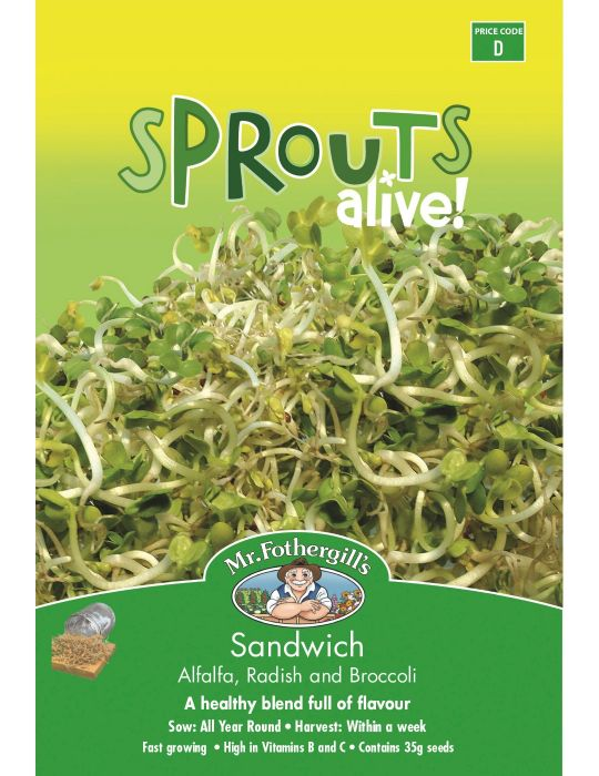 Sprouts Alive Sandwich Mix