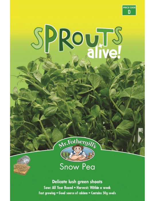 Sprouts Alive Snow Pea