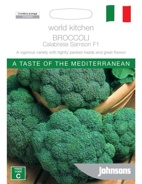 Broccoli Calabrese Samson F1