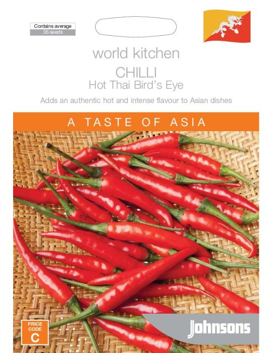 Chilli Hot Thai Bird's Eye