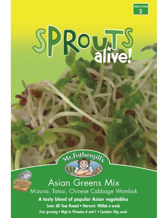 Sprouts Alive Asian Greens Mix