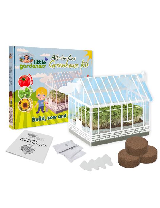 Little Gardeners Mini Greenhouse Kit