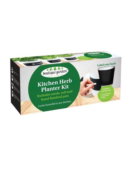Kitchen Herb Planter Kit