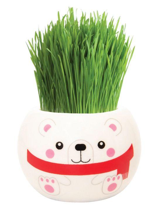 Grass Hair Kit - Christmas (Polar Bear)