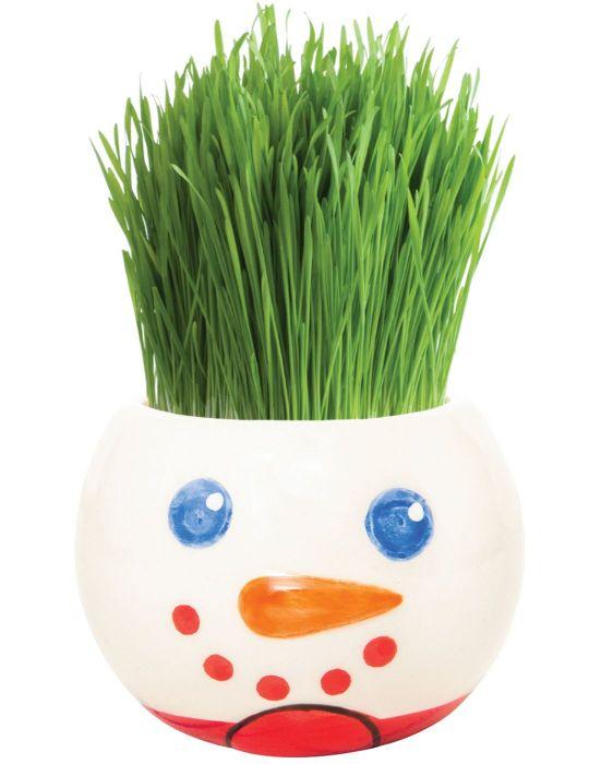 Grass Hair Kit - Christmas (Snowman)