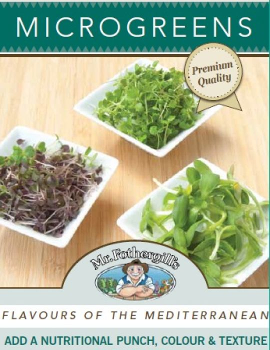 Microgreens Flavours of the Mediterranean