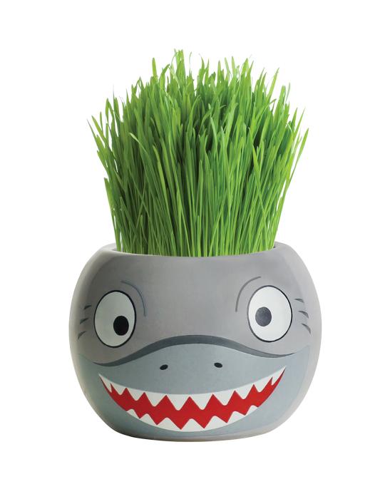 Grass Hair Kit - Ocean Animals (Shark)