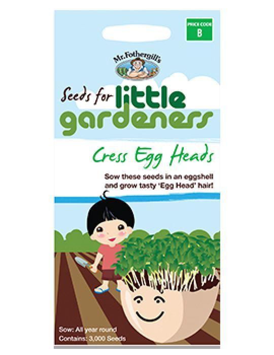 Little Gardeners - Cress Eggheads