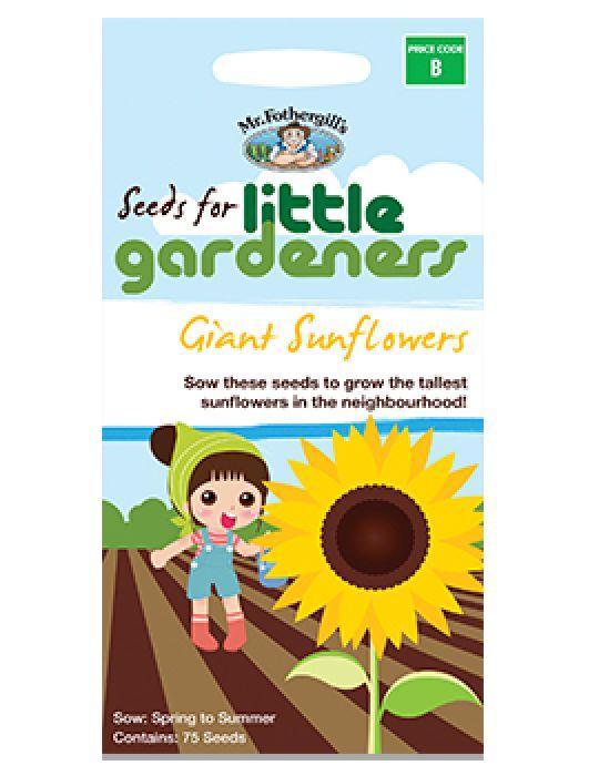 Little Gardeners Giant Sunflower