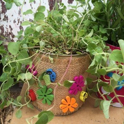 How to Make Tin Can Planters